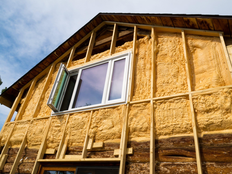Isolation thermique mousse maison