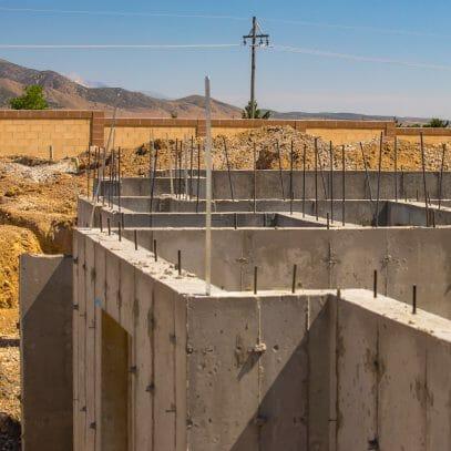 Mur extérieur vide sanitaire isoler