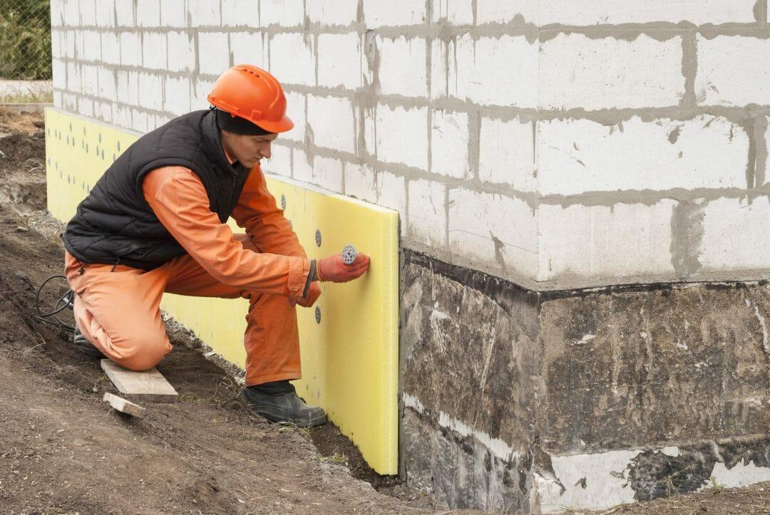Isolation mur extérieur vide sanitaire existant