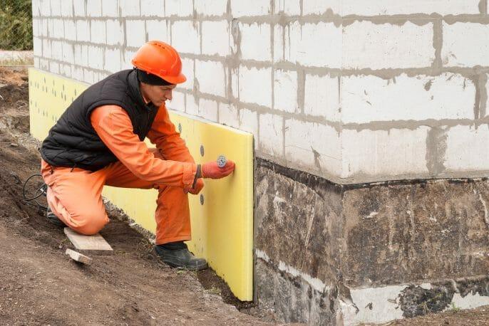 Isolation mur exterieur vide sanitaire