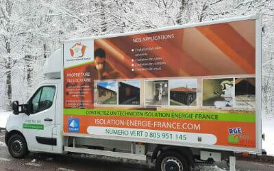 camion isolation mousse polyuréthane france