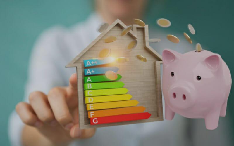 un changement de classe énergétique pour son logement permet de faire des économies, et donc de gagner de l'argent